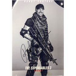 Expendables 3 Randy Couture Signed Photo
