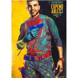 Expendables 3 Victor Ortiz Signed Photo