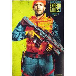 Expendables 3 Jason Statham Signed Photo