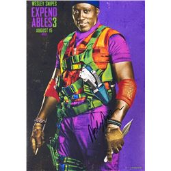 Expendables 3 Wesley Snipes Signed Photo