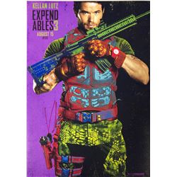 Expendables 3 Kellan Lutz Signed Photo
