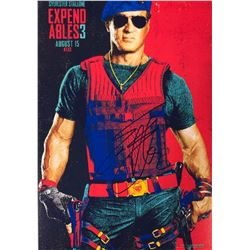 Expendables 3 Sylvester Stallone Signed Photo