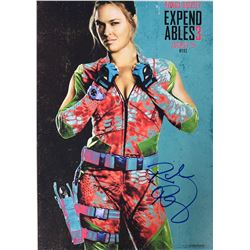 Expendables 3 Ronda Rousey Signed Photo