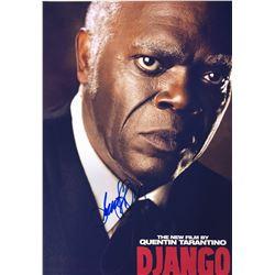 Django Samuel L Jackson Signed Photo