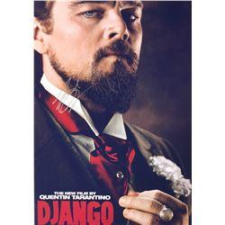 Django Leonardo DiCaprio Signed Photo