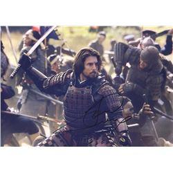 Last Samurai Tom Cruise Signed Photo