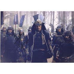 Last Samurai Ken Watanabe Signed Photo