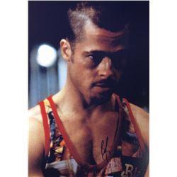 Fight Club Brad Pitt Signed Photo