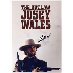 Outlaw Josey Clint Eastwood Signed Photo