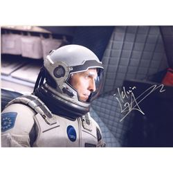 Interstellar Matthew McConaughey Signed Photo