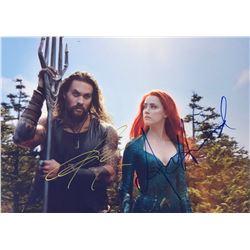Aquaman Jason Momoa Signed Photo