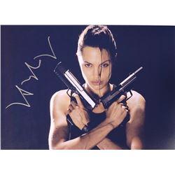 Tomb Raider Angelina Jolie Signed Photo
