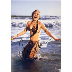 Star Wars Carrie Fisher Signed Photo