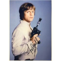 Star Wars Mark Hamill Signed Photo