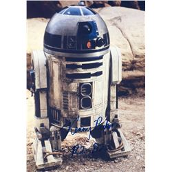 Star Wars R2D2 Signed Photo