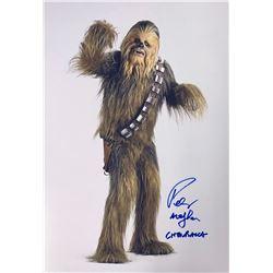 Star Wars Peter Mayhew Signed Photo