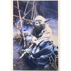 Star Wars Frank Oz Signed Photo