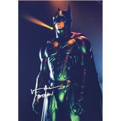 Batman Val Kilmer Signed Photo