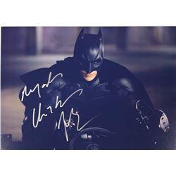 Batman Christian Bale Signed Photo