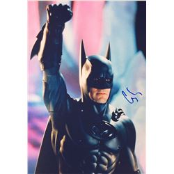 Batman George Clooney Signed Photo