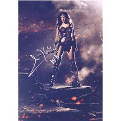 Batman V Superman Gal Gadot Signed Photo