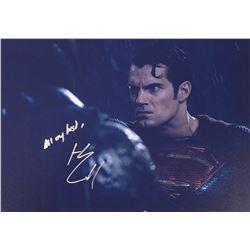 Batman V Superman Henry Cavill Signed Photo