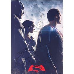 Batman V Superman Ben Affleck Signed Photo