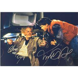 Back to Future Michael J. Fox Signed Photo