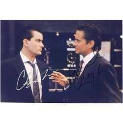 Wall Street Michael Douglas Signed Photo