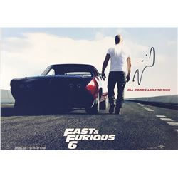 Fast and Furious Signed Photo