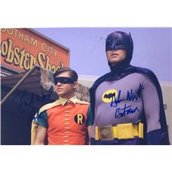 Batman 1966 Adam West Signed Photo