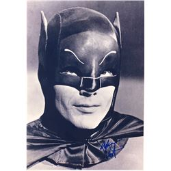 Batman 1966 Adam West Signed Photo