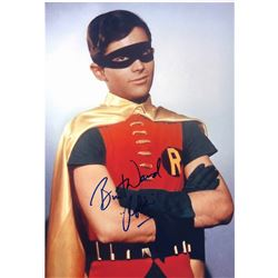 Batman 1966 Burt Ward Signed Photo