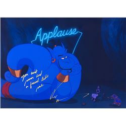 Aladdin Robin Williams Signed Photo