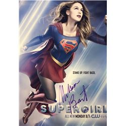 Supergirl Melissa Benoist Signed Photo