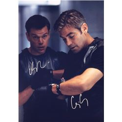 Ocean 11 George Clooney Signed Photo