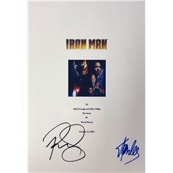 Iron Man Stan Lee Signed Script Cover