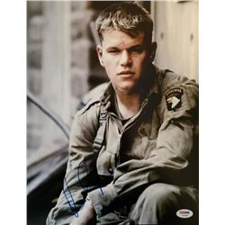 Matt Damon Autographed Signed Photo