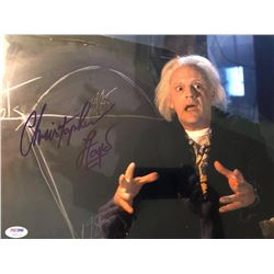 Christopher Lloyd Autographed Signed Photo
