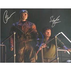 Michael J Fox, Christopher Lloyd Autographed Signed Photo
