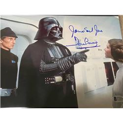 James Earl Jones Dave Prowse Autographed Signed Photo