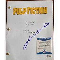 John Travolta Autographed Signed Script Cover
