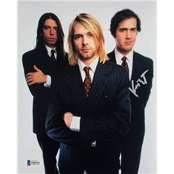 Krist Novoselic Autographed Signed Photo