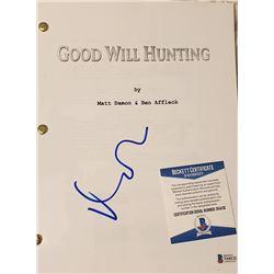 Matt Damon Autographed Signed Script Cover