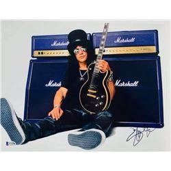 Slash Autographed Signed Photo