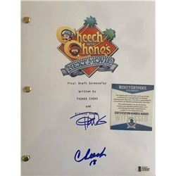 Cheech and Chong Autographed Signed Photo