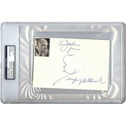 Alfred Hitchcock Autographed Signed Photo