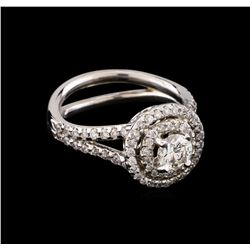 1.14 ctw Diamond Ring - 14KT White Gold
