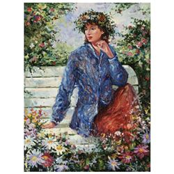 "Igor Semeko, ""Flora"" Hand Signed Limited Edition Giclee on Canvas with Letter of"