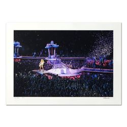 """Rob Shanahan, """"Lady Gaga"""" Hand Signed Limited Edition Giclee with Certificate of"""